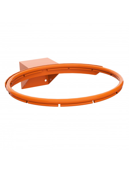 Кольцо баскетбольное № 7 усиленное, антивандальное (120х100)