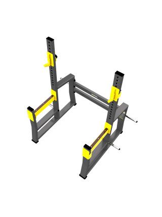 A-3150 Стойка для приседания и жима с ограничителями (Squat Rack)