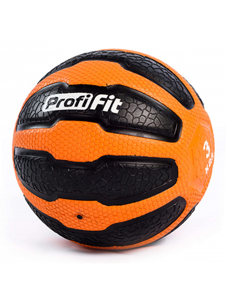 Медбол PROFI-FIT, 3 кг
