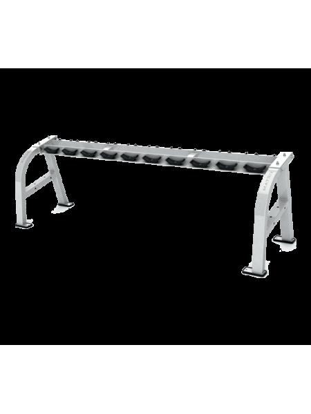 MATRIX G1-FW158 Iced Silver Подставка под гантельный ряд, 5 пар
