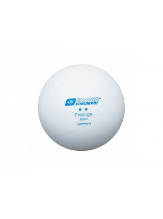 Мячики для н/тенниса DONIC PRESTIGE 2, 6 штук, белые