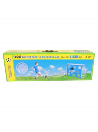 Ворота игровые DFC 2 в 1 6ft пластик GOAL183T