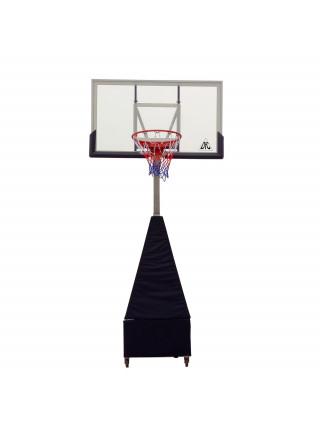Баскетбольная мобильная стойка DFC STAND60SG 152x90CM поликарбонат (3кор)