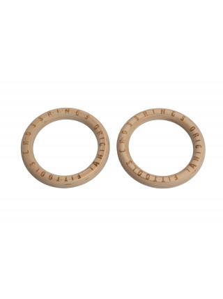Кольца гимнастические 23,5 см