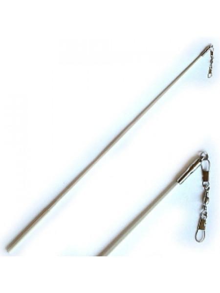 Палочка для гимнастической ленты (длинна 60 см., с карабином)