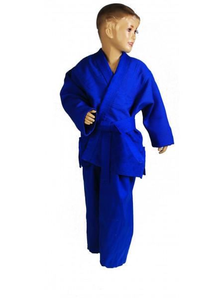 Кимоно синее легкое 120-140 см