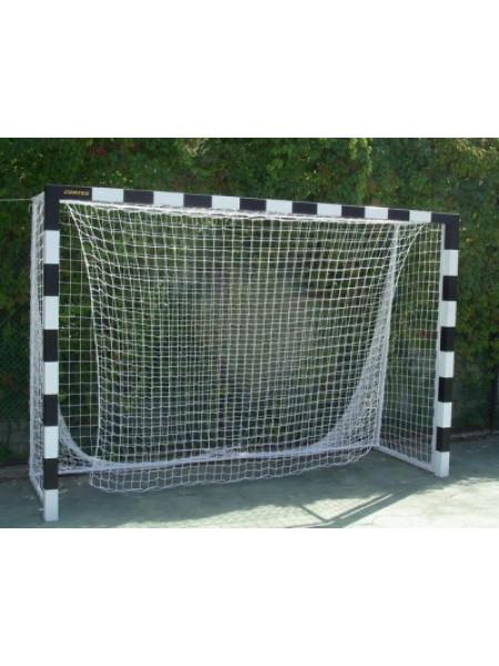 Сетка для мини футбола/гандбола яч 100*100, нить 4,0 мм, Размер: 3,00х2,00х1,00х1,50 м