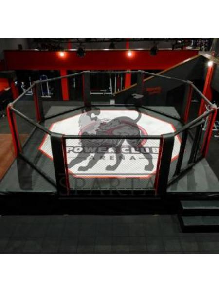 """Клетка-ринг """"трансформер"""" диам. 8 м., с боевой зоной ринга 7 х 7 м."""