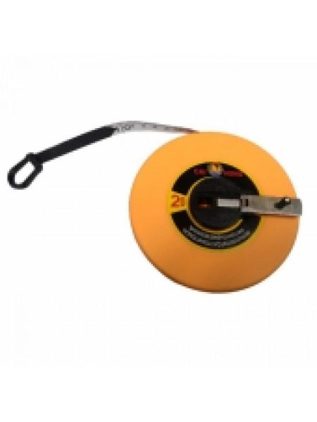 Рулетка спортивная, пластмассовая, 50 м