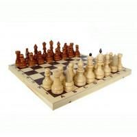 Шахматы лакированные турнирные с доской