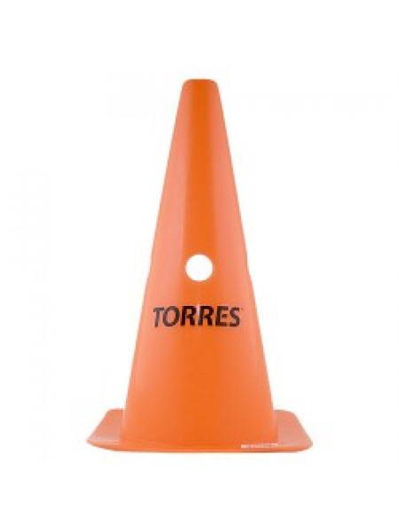 """Конус тренировочный """"TORRES"""" 30 см с отверстиями"""