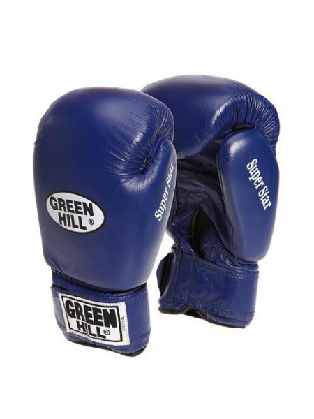 Перчатки бокс боевые Green Hill Super Star