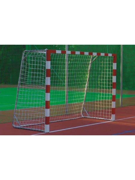 Сетка для мини футбола/гандбола, яч. 100*100, нить 2.2 мм, Размер: 3,00х2,00х1,00х1,50 м