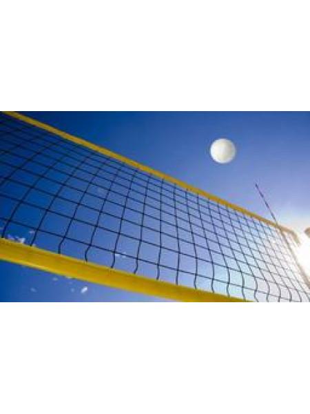 Сетка для пляжного волейбольная яч. 100*100, нить 3 мм, размер: 1х 8,5 м