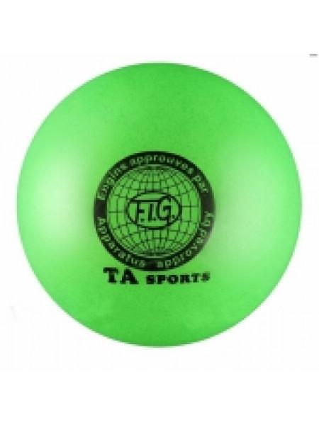Мяч для художественной гимнастики С БЛЁСТКАМИ TA sports, d 15 см