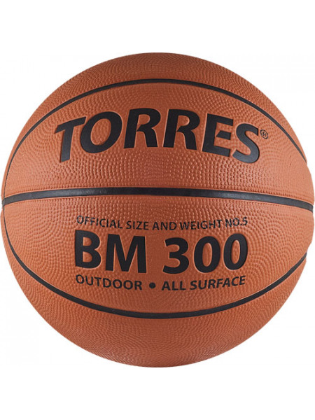 """Мяч баск. """"TORRES BM300"""", р.5"""