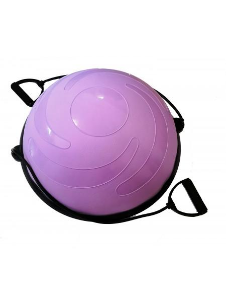 Полусфера для фитнеса (мяч Босу) 58 см.
